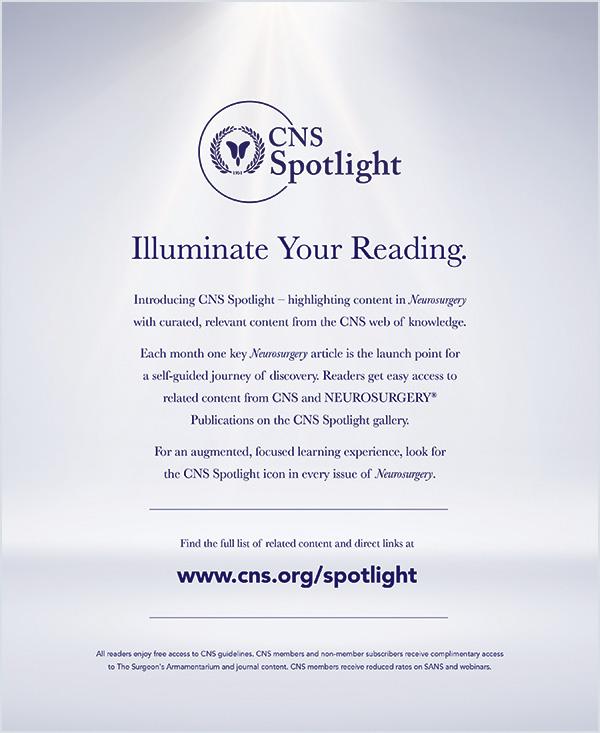 CNS Spotlight Ad