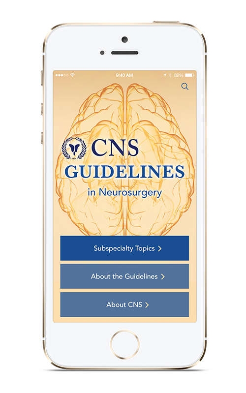 CNS Guidelines App