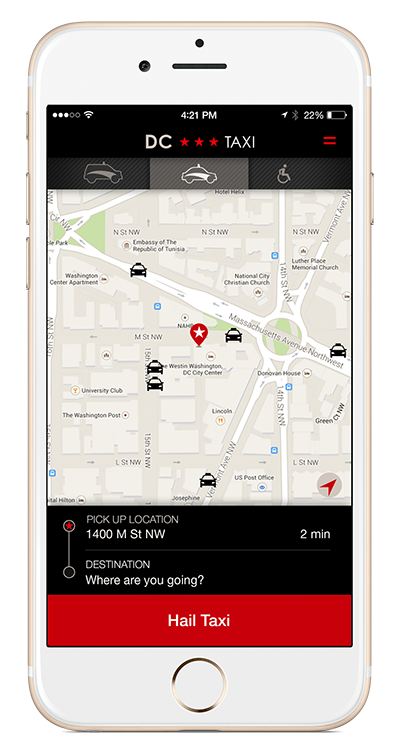 DC Taxi App