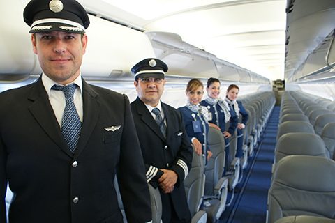 Interjet Airline Staff