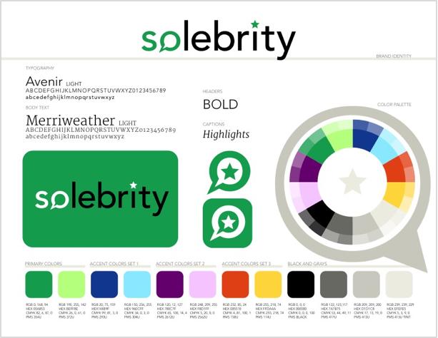 Solebrity Brand Identity