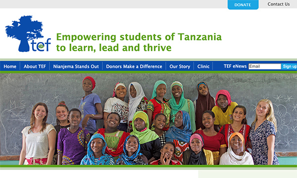 Tanzania Education Fund Website